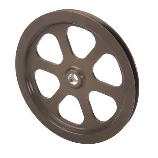 Cast Iron Pulleys For Sale : Sell new krc quot v belt aluminum pulley cast iron