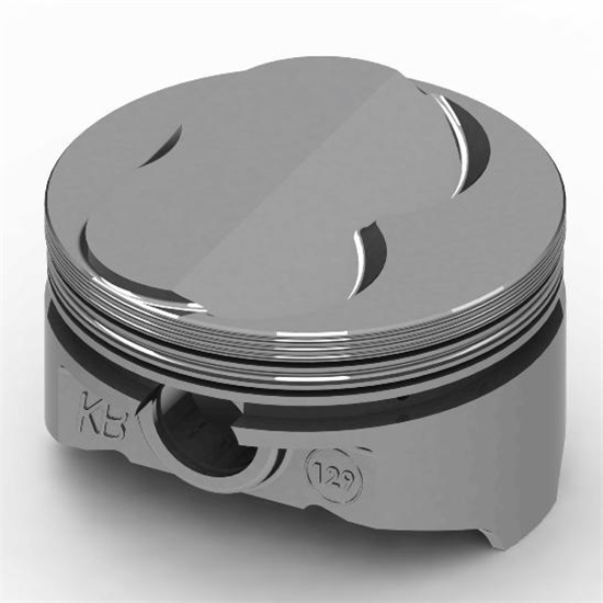 KB Chevy 400 Hypereutectic Pistons, .150 Dome, 6.0 Rod