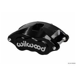 Wilwood 120-10937 D52 Dual Piston Caliper, Blk Anodized, 1.04 In Disc