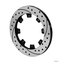Wilwood 160-7102-BK SRP-BLK 32 Vane Iron Rotor, 11.75 Inch