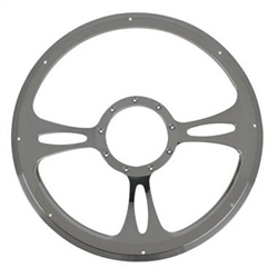 Billet Specialties 30175 Billet Fast Lane Steering Wheel