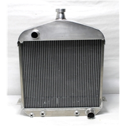 Garage Sale - Speedway 1917-1923 T-Bucket Buffed Aluminum Radiator-Chevy Outlets