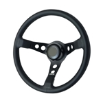 GT Performance 52-4415 GT3 Apex Leather Steering Wheel, Pro-Touring, GT