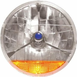 Garage Sale - 7 Inch Tribar Headlight with Amber