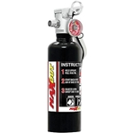 H3R Performance MX100B Max-Out 1.0 Lb. Fire Extinguisher, Black
