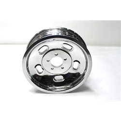 Garage Sale - Circle Racing Wheels Gasser Alloy Kidney Bean Wheels, 15X4.5, 5 on 4.5, Polished