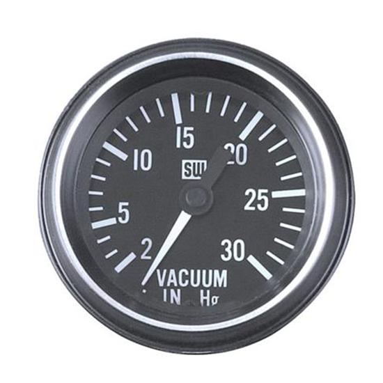 Stewart Warner 284AH Heavy Duty Vacuum Gauge, Mechanical, 2-1/16 Inch