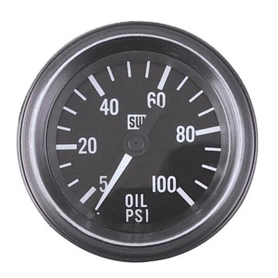 Heavy Equipment Gauges : Stewart warner d heavy duty in oil pressure