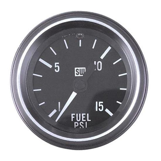 Stewart Warner 284-E Heavy Duty Fuel Pressure Gauge, Mechanical