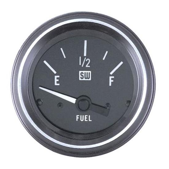 Stewart Warner 284M Heavy Duty Fuel Level Gauge, Electric, 2-1/16 Inch