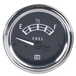Stewart Warner 82211 Standard Fuel Level Gauge, Electric, 2-1/16 Inch