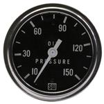 Stewart Warner Deluxe Racing Oil Pressure Gauge, Mechanical, 2-5/8 Inch