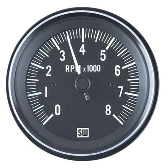 stewart warner 82171 heavy duty tachometer electric 3 3 8 inch stewart warner 82171 heavy duty tachometer electric 3 3 8 inch