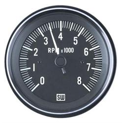 Stewart Warner 82171 Heavy Duty Tachometer, Electric, 3-3/8 Inch