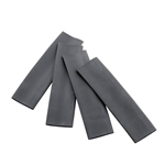Accel 1859 Black Heat Shrink Sleeves, 4 Pack