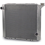 AFCO 80100LWN Lightweight Single Row Radiator, 22-7/8 In Wide Tank Top