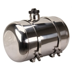 EMPI 3895 Polished Stainless Steel Fuel Tank, 10 x 16 Inch, Center Fill, 5 Gallon