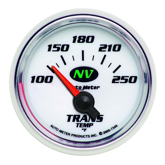 Auto Meter 7349 NV Air-Core Transmission Temperature Gauge