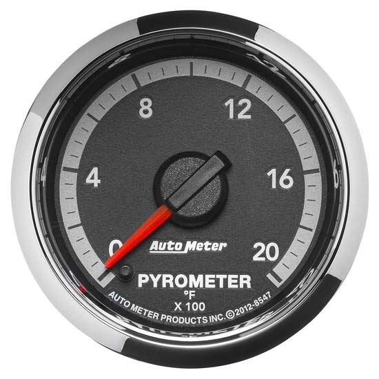 Auto Meter 8547 Gen 4 Dodge Digital Stepper Motor Pyrometer Gauge