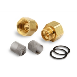 Demon 142117 Brass Inlet Fitting Kit, 3/8 Inch Tube