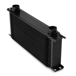 Earls 41600AERL 16 Row Oil Cooler Core, Black