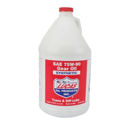 Lucas Oil 10048 SAE 75W90 Synthetic Racing Gear Oil, 1 Gallon