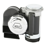 Wolo 419 Bad Boy Compact Air Horn, Black