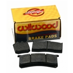 Wilwood 150-9417K 7520 BP-20 Brake Pad Set, GN III, .80 Inch Thick