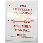 Dave Graham Factory Assembly Instruction Manual, 68 Chevelle/El Camino