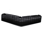 OER 14011797R Reproduction Upper Grille for 1980-81 Camaro, Black
