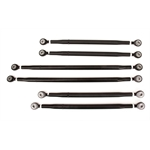 Sprint Axle Radius Rod Kit, Black