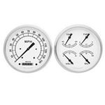 Garage Sale - Classic Instruments 1947-53 Chevy Pickup Gauge Set - White