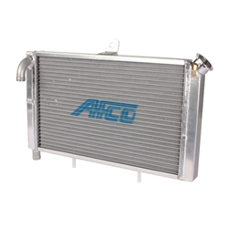 AFCO 80207-1 21 x 12 Inch Cage Mount Double Pass Radiator-1 In Push On