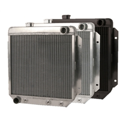 AFCO 80276-S-NA-Y 63-66 Falcon/Comet/Mustang Radiator-Pass Side Outlet