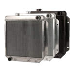 AFCO Direct Fit 1963-66 Falcon/Comet/Mustang Radiators, Pass. Side Outlet