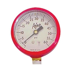 AFCO 85363 0-60 psi Replacement Air Pressure Gauge