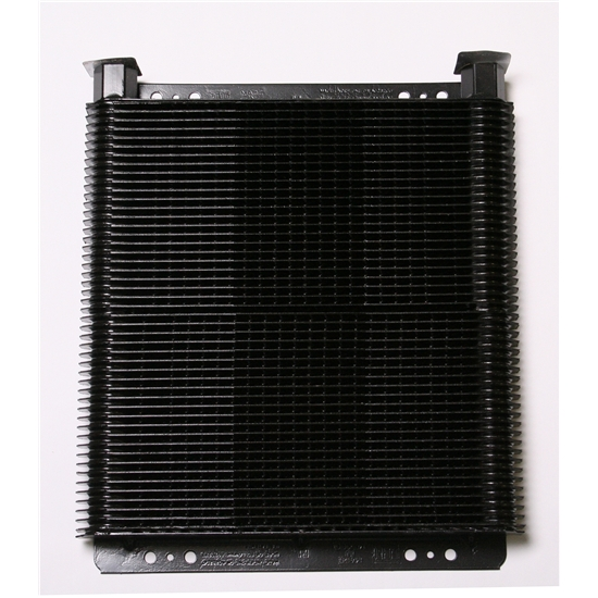 AFCO LM7B Stacked Plate Oil Cooler, 8 x 11 x 1-1/2 Inch, 36-Pass