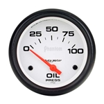 Auto Meter 5827 Phantom Air-Core Electric Oil Pressure Gauge, 2-5/8