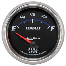Auto Meter 7916 Cobalt Air-Core Fuel Level Gauge, 2-5/8 Inch