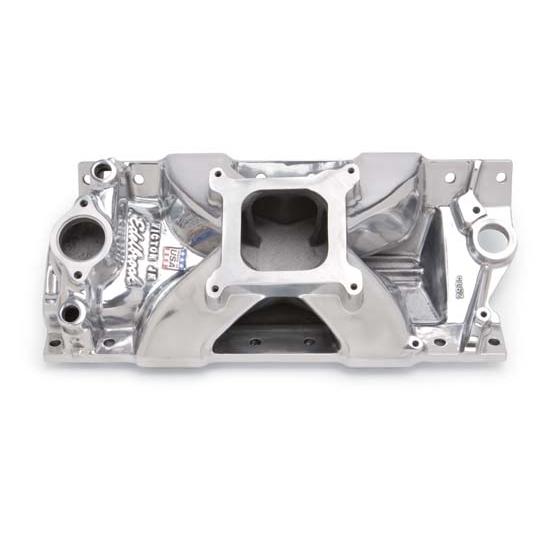 Edelbrock 29751 Victor Jr. Series Intake Manifold, Small