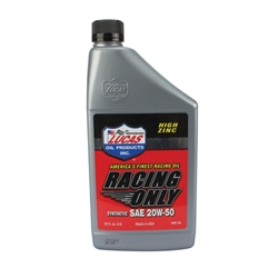 Lucas Oil 106151 SAE 20W-50 Synthetic Racing Engine Oil, 1 Quart
