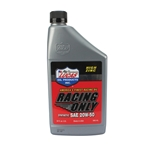 Lucas High Performance Race Oil, Synthetic SAE 20W-50, 1 Quart