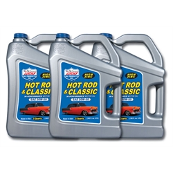 Lucas Oil 10684 SAE 20W-50 Hot Rod Engine Oil, Three 5 Quart Jugs