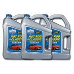 Lucas Oil 10684 Sae 20w50 Hot Rod Engine Oil Three 5