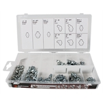 Grease Zerk Fitting Assortment - 70 Piece