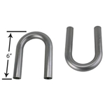 Stainless Steel Exhaust U-Bends, 2-1/8 Inch