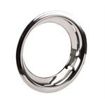 Chrome Beauty Ring for 15 Inch GM Rally Wheel, 3 Inch Wide