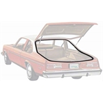 OER 20490800 Hatchback Seal Weatherstripping for 1973-74 Nova/X-Body