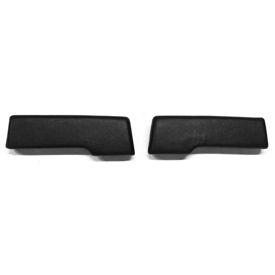 PUI ARP9-10 1965-1967 Nova 2 Dr Hardtop Rear Arm Rest Pads, Black