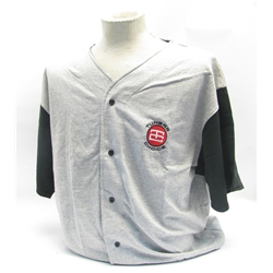 Garage Sale - Tuners Choice Grey Baseball T-Shirt